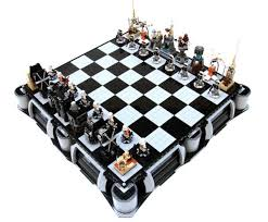 star wars chess sets star wars 3d chess set toys zavvi