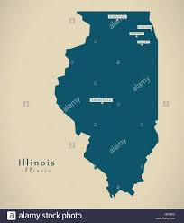Maps Of Illinois by Illinois Location On The Us Map Illinois Highway Map Illinois