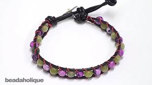 bracelet youtube images How to make a chan luu style wrapped bracelet jpg