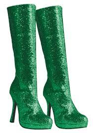 womens boots green womens zara glitter green boots costume craze