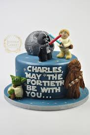 40th birthday star wars cake juniper cakery bespoke cakes in