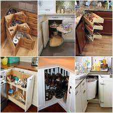 kitchen corner ideas clever kitchen corner cabinet storage and organization ideas