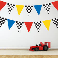 photo racing car flags reusable wall decal stickers 1000 jpg 1000
