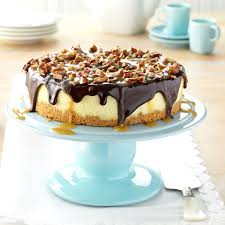 simple turtle cheesecake recipe taste of home