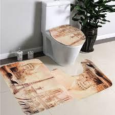 Bathroom Rugs Set 3 Piece by Online Buy Wholesale 3 Piece Bath Mat Set From China 3 Piece Bath