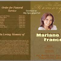 free funeral program template u0027s funeralprogramtemplate bucket