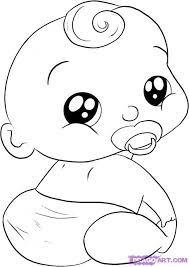 free coloring pages baby pictures baby boy coloring pages