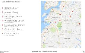 Williamsburg Brooklyn Map New Signage Approved For Brooklyn Public Library U0027s Landmarked