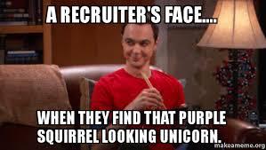 Finding A Job Meme - a recruiters face iy2gd8 jpg 649 367 recruiting memes