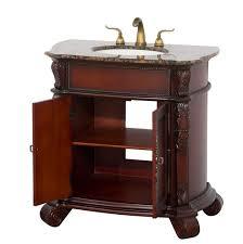rutherford 36 inch bathroom vanity dark wood finish