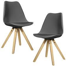 Lederstuhl Esszimmer Grau En Casa Esstisch Eiche Dunkel Mit 6 Stühlen 180x100 Tisch Stühle