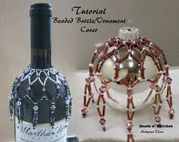 beaded ornament cover patterns etsy