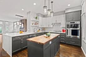 what colors are popular for kitchens now popular kitchen design trends in chicago habitar interior