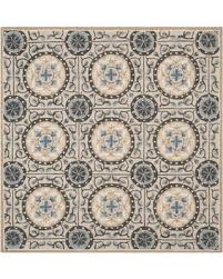 6 Square Area Rug Spectacular Deal On Safavieh Four Seasons Medallion 6 Square Area
