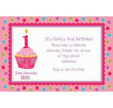 custom sweet little cupcake 1st birthday invitations u0026 thank