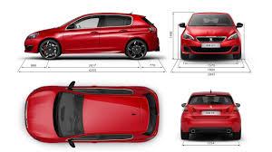 peugeot red 308 gti