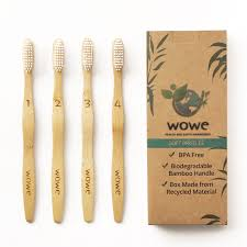 amazon com woobamboo eco toothbrush for kids dentist approved