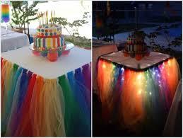 how to make fairy lights wonderful diy fairy light tutu table skirt