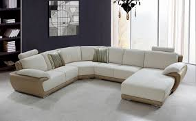 white modern leather sectional sofa couch s3net sectional
