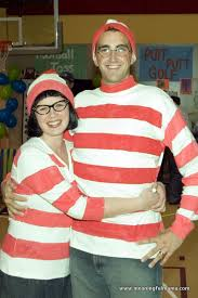 easy couples costumes couples waldo and wenda costumes really awesome costumes