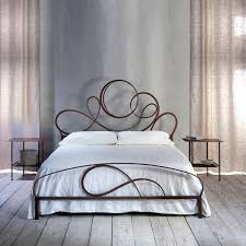 wrot iron bed elegant shabby chic luxury wrought iron bed by cosatto letti