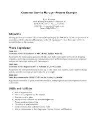 resume exles objective customer service best exle resumes customer services resume sle photos inside