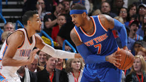 Carmelo Anthony Bench Press New York Knicks Trade Carmelo Anthony To Oklahoma City Thunder In