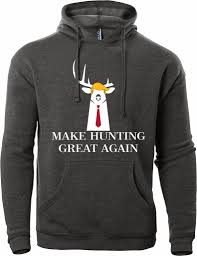 make hunting great again hooded sweatshirt for sale busted rack