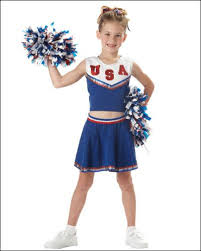 girls costumes patriotic cheerleader usa blue best costume outlet