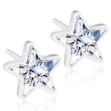 hypoallergenic earrings uk hypoallergenic earrings 6mm swarovski clear