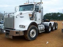 2003 kenworth t800 tri axle truck tractor
