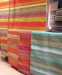 Woven Cotton Area Rugs Brightly Woven Cotton Area Rugs