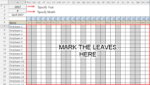 free employee student leave tracker template in google sheets