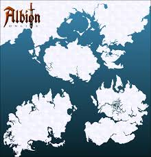 New World Map by Sandbox Interactive Shares Look At New World Map For Albion Online