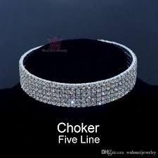 swarovski choker necklace images Chokers jewelry sets necklace torque rhinestone swarovski crystal jpg