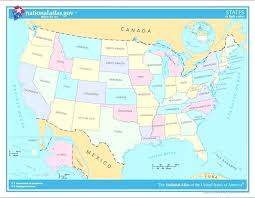 map of us states based on population map of united states by population map of united states by