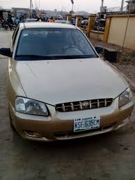 hyundai accent 2000 price used hyundai accent 2000 model 310k only sold autos nigeria