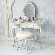 coiffeuse chambre adulte chambre à coucher mobilier chambre shabby chic coiffeuse blanche