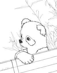 cute panda coloring pages getcoloringpages com