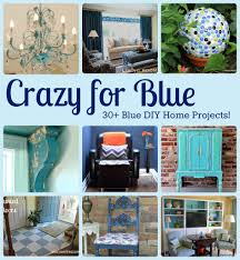 crazy for blue in the garage
