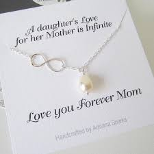 mother of the bride infinity lariat necklace personalized mothers