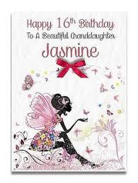 handmade personalised ladies daughter granddaughter 16th 18th