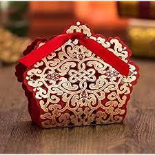 amazon com ponatia 50pcs lot laser cut favor candy box with