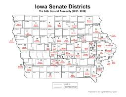 House District Map John Deeth Blog District Of The Day Reboot Iowa Senate District