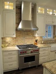 kitchen backsplash brick award winning kitchen with brick backsplash chicago