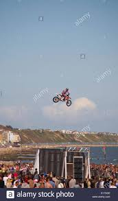 motocross stunts freestyle motocross stunts on the second day of the first ever bournemouth