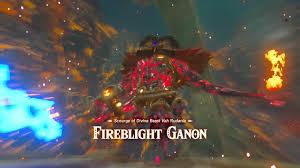 Wild Fire Vs Dragon Fire by Zelda Breath Of The Wild U2013 Beat Fireblight Ganon Best Tactics