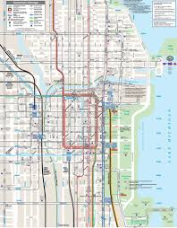 Chicago Cta Train Map by Cta Metra And Pace Maplets