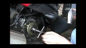 how to fix replace a gy6 flywheel cdi stator and magneto
