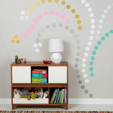 Design Own Wall Sticker 8 Fun And Easy Ways To Use Polka Dot Wall Decals